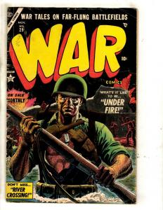 War Comics # 29 VG/FN Atlas Marvel Golden Age Comic Book Pre-Code Army Navy JL10