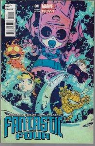 Fantastic Four #1 (Marvel, 2013) Skottie Young Baby Variant