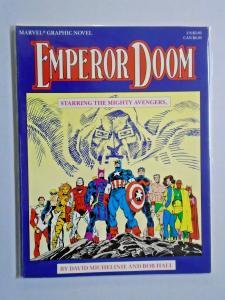 Avengers Emperor Doom #1 First 1st Print Graphic Novel 8.0 VF (1987)
