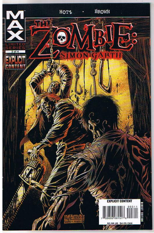 ZOMBIE : Simon Garth #3, NM, Undead, Walking Dead, 2008, more Zombies in store
