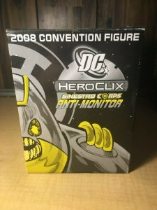 DC Heroclix Sinestro Corps Anti-Monitor 2008 Convention Figure Exclusive MFT4
