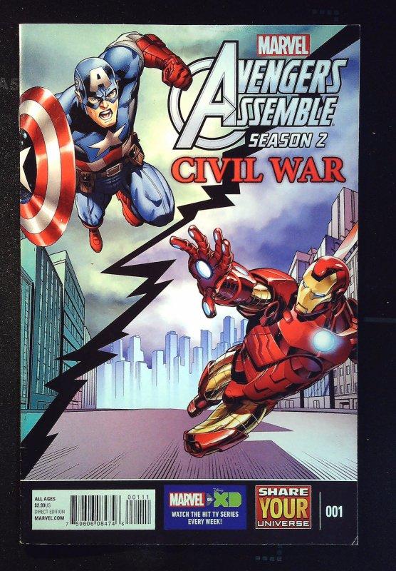 Marvel Universe Avengers Assemble Season 2: Civil War #1 (2016)