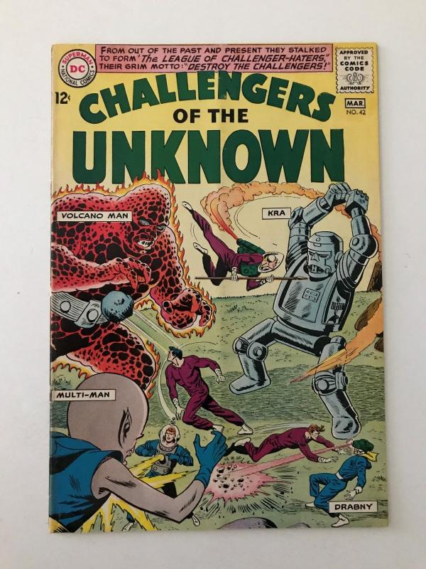 Challengers of the Unknown #42 (Feb-Mar 1965, DC) - Fine+