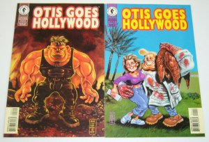 Otis Goes Hollywood #1-2 VF/NM complete series - bob fingerman dark horse comics