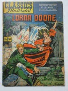 Classics Illustrated- 32 Lorna Doone by Richard Doddridge Blackmore HRN 53