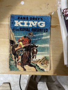 Zane Grey's King Of The Royal Mounted#340 (1951 Dell)