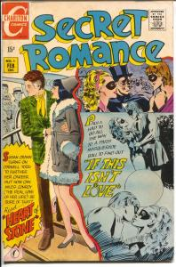 Secret Romance #5 1970-Charlton-love triangle-swimsuit panel-XKE-FN