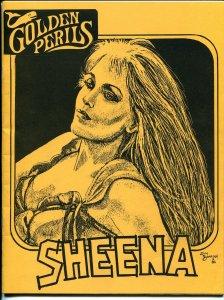 Golden Perils #7 1986-pulp fanzine-Sheena-Jim Garrison-Secret Agent X-NM