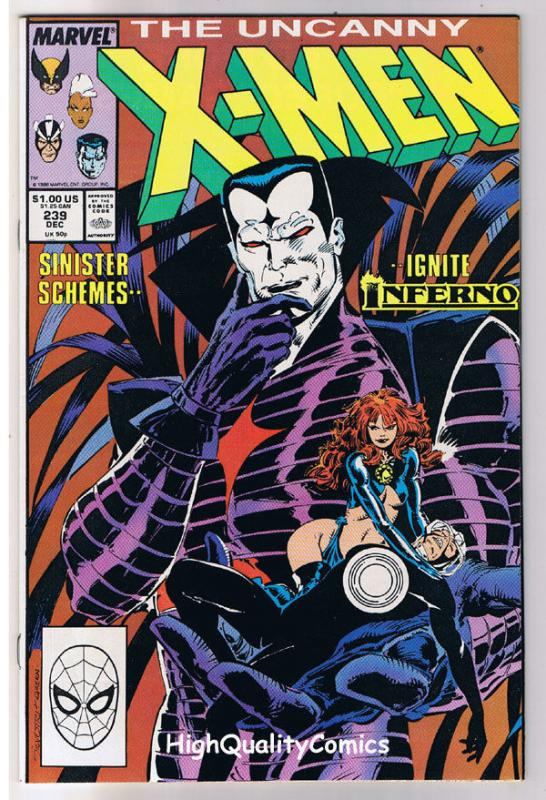 X-MEN #239, VF, Wolverine, Chris Claremont, Uncanny, more in store