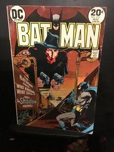 Batman #253 (1973) Michael Kalluta Shadow cover key! Mid-grade VG/FN Wow!