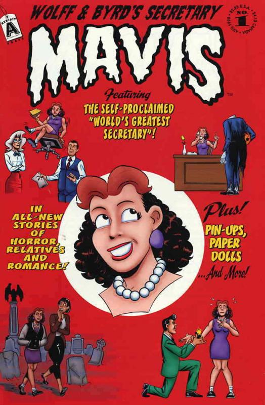 Wolff & Byrd, Counselors of the Macabre's Secretary Mavis #1 FN; Exhibit A | sav