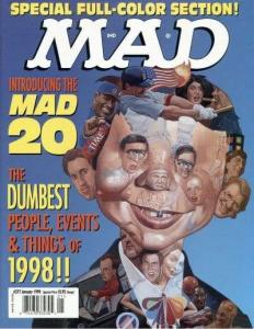 Mad (1952 series) #377, NM + (Stock photo)