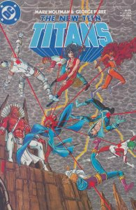 New Teen Titans, The (2nd Series) #3 VF; DC | save on shipping - details inside