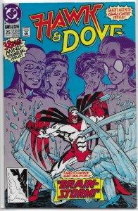 Hawk and Dove (vol. 2, 1989) #25 FN Kesel, Guler, Jurgens, Maguire