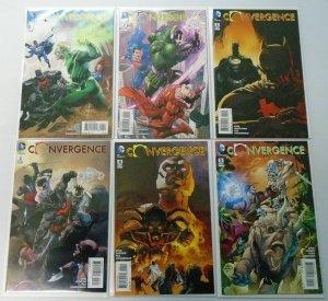 DC Comics - Convergence Set:#1-8 (Some Variants) 8.0 VF (2015)