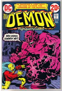 DEMON #10, VF/NM. Jack Kirby, 4th World, Etrigan, 1972, more JK in store