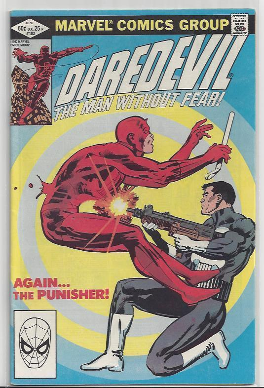 Daredevil #183 Key Punisher with Old School Frank Miller Autograph