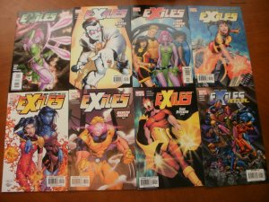 8 Marvel EXILES Comic #5 18 19 21 27 31 40 ANNUAL #1 (2007) Hard Choices So Lame