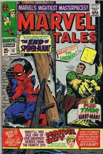 Marvel Tales #13 ORIGINAL Vintage 1967 Spider-Man Sandman Thor Giant Man