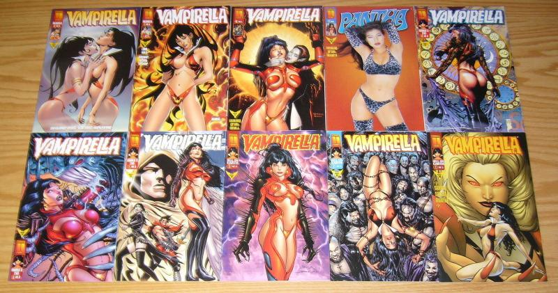 Vampirella Monthly #0 & 1-26 VF/NM complete series + preview - morrison/millar