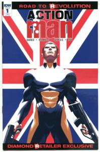 ACTION MAN #1, VF/NM, SDCC Retailer Exclusive, 2016, IDW, Hasbro, more in store