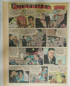 Superman Sunday Page #918 by Wayne Boring from 6/2/1957 Size ~11 x 15 inches