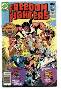 Freedom Fighters #11-1978-Origin of the RAY-DC