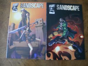 Sandscape #2 #3 (Dreamwave DW) 2003