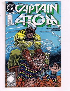 Captain Atom #34 VF DC Comics Comic Book Bates 1988 DE17