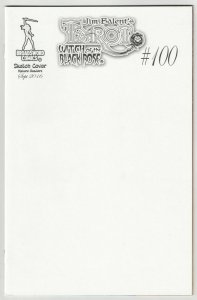Tarot Witch Of The Black Rose #100 Blank Sketch Cvr  (Broadsword, 2016) NM