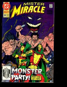 12 Mister Miracle DC Comic Books 26 25 21 19 18 17 11 10 9 8 7 6 Batman JF10