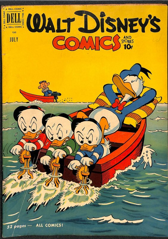 Walt Disney's Comics And Stories #130 VG+ 4.5