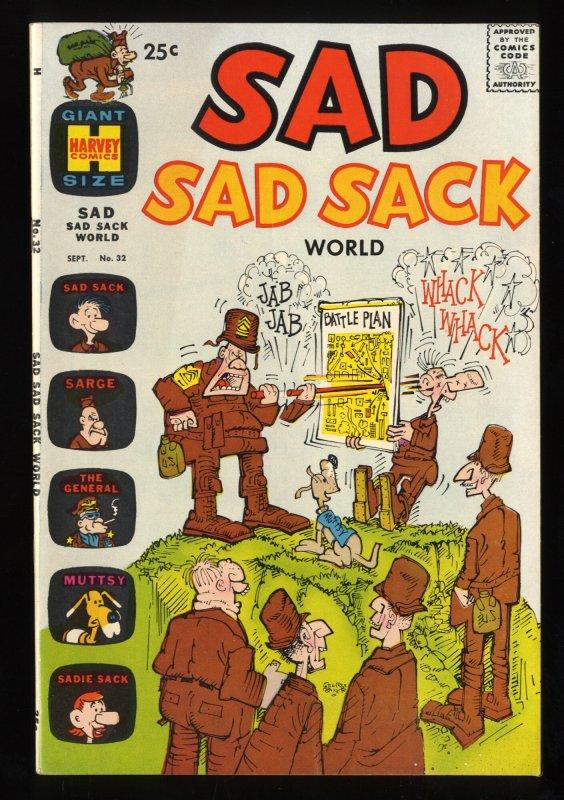 Sad Sack Comics #32