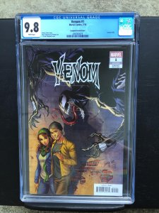 Venom 1 Cgc 9.8 Marvel 2018 J. Scott Campbell Vaiant