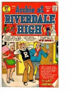 ARCHIE AT RIVERDALE HIGH (1972-1987) 7 GOOD June 1973