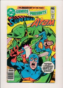 LOT OF 3 DC Presents SUPERMAN & HAWKMAN#11,& Superboy#14, &ATOM#15 F/VF(PF116)