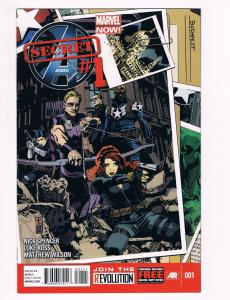 Secret Avengers # 1 Marvel Comic Books Hi-Res Scans Awesome Issue WOW!!!!!!! S14