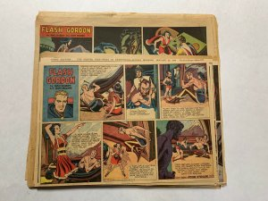 Flash Gordon Complete Year 1947 Tabloid Size Color Newspaper Sundays