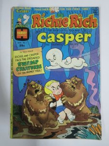 RICHIE RICH AND CASPER #1 (Harvey, 9/1974)  GOOD  (G) Wealth and ghosts!