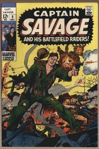CAPTAIN SAVAGE (1968)9 SAVAGE SHAVES BEARD!