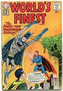 WORLDS FINEST #128 1962-BATMAN-SUPERMAN-DC COMICS FR/G