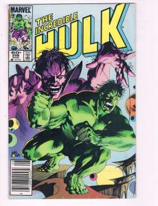 The Incredible Hulk #298 VF Marvel Comic Book 1984 DE7