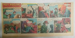 Roy Rogers Sunday Page by Al McKimson from 1/28/1951 Size: 7.5 x 15 inches