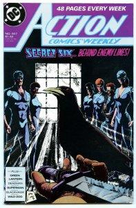 Action Comics Weekly 607 Jul 1988 NM- (9.2)