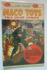 Maco Toys Full Color Comics #1 3.0 (1959)