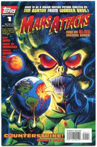 MARS ATTACKS #1 2 3, 5 6 7, VF/NM, 1995, 6 issues, Aliens, Horror, Martians