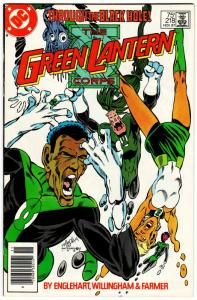 Green Lantern Corps #218 (DC, 1987) FN/VF