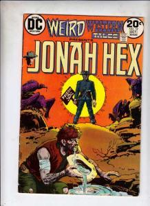 Weird Western Tales #19 (Oct-73) VF High-Grade Jonah Hex