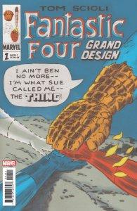 Fantastic Four Grand Design #1 (Marvel, 2019) NM