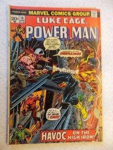 LUKE CAGE POWER MAN # 18 MARVEL BRONZE ACTION ADVENTURE GD/VG